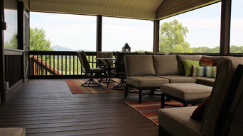 Caldwell County Front Porch Addition for Outdoor Living