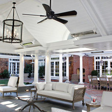 Traditional Porch by Markay Johnson Construction