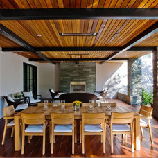 Contemporary Porch by Strening Architects