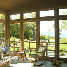 Traditional Porch by Cushman Design Group