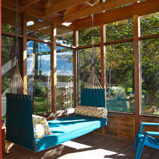 contemporary sunroom by Knight Associates