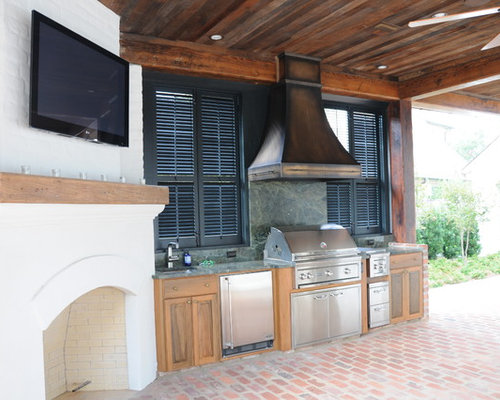 Outdoor kitchen hood ideas pictures remodel and decor for Outdoor kitchen hood designs