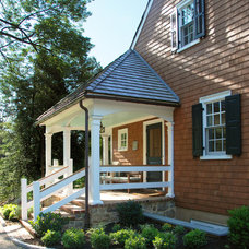 Traditional Porch by Archer & Buchanan Architecture, Ltd.