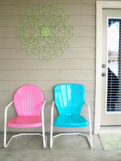 Eclectic Porch by Agnes Blum