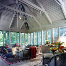 Traditional Porch by Michael Willoughby & Associates - Architects