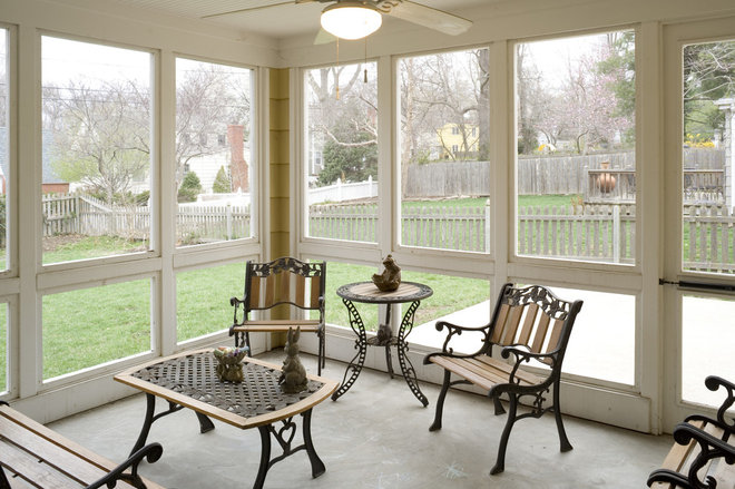 Traditional Porch by ROTHERS Design/Build