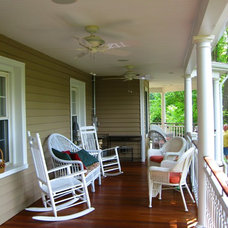 Traditional Porch by WJM Architect