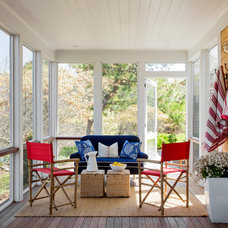 Beach Style Porch by kelly mcguill home
