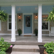 Traditional Porch by Koetje Builders Inc
