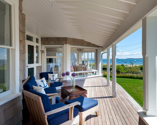 Nautical Porch Home Design Ideas Pictures Remodel and Decor