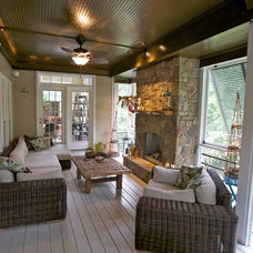 Contemporary Porch by Wood Wise Design & Remodeling