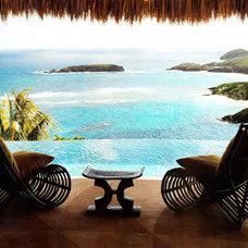 Tropical Porch by Jennifer Bradford Davis Interior Design