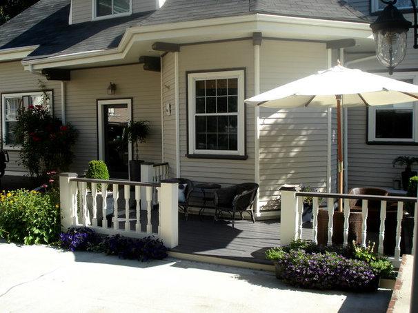 Modern Porch by Melissa Miranda Interior Design