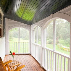 traditional porch by Windover Construction