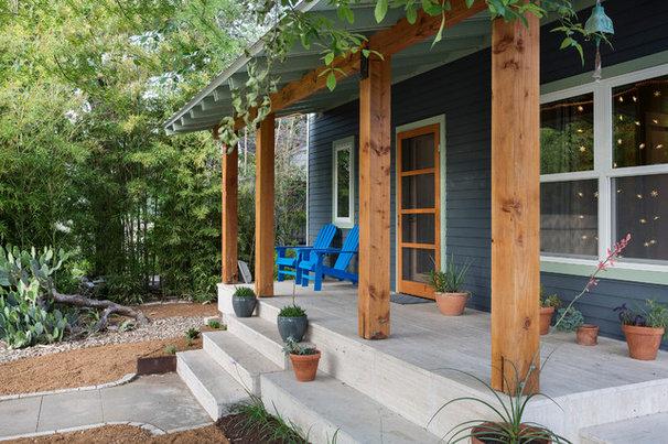 Contemporary Porch by Merzbau Design Collective
