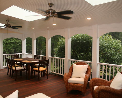 Screened porch arch houzz for Skylights of hawaii llc