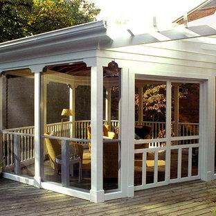 Enclosed Deck Pergolas Houzz