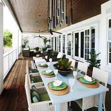 Contemporary Porch by Kathleen McGovern Studio of Interior Design