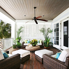 Traditional Porch by Kathleen McGovern Studio of Interior Design