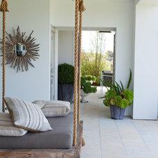 Beach Style Porch by Molly Wood Garden Design