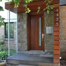 Modern Porch by CARIB DANIEL MARTIN architecture and design llc