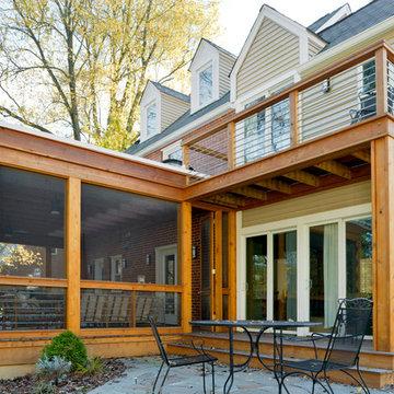 Cedar Screened Porch