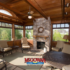 Traditional Porch by McGowan Building Company, LLC