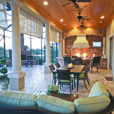 Traditional Porch by Christopher Burton Homes, Inc.
