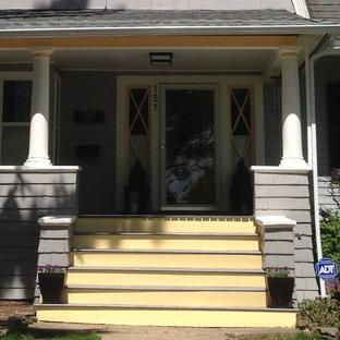 Large elegant porch photo in Newark