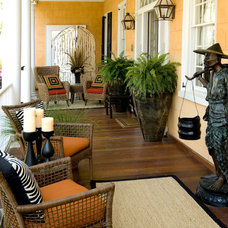 Asian Porch by Charleston Home + Design Mag