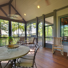 Traditional Porch by BlueStone Construction, LLC