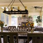 arturo 8 light rectangular chandelier rustic chandeliers by. Black Bedroom Furniture Sets. Home Design Ideas