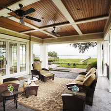 Traditional Porch by Spivey Architects, Inc.