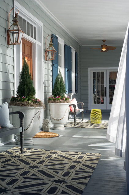 Traditional Porch by Dann Inc.