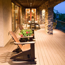 Eclectic Porch by Rentfrow Design, LLC
