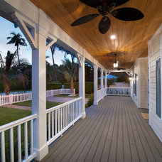 Beach Style Porch by The Lykos Group, Inc.