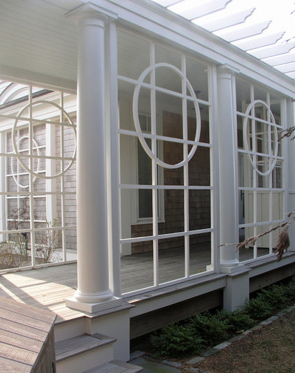 Traditional Porch by Steven Laurin & Company