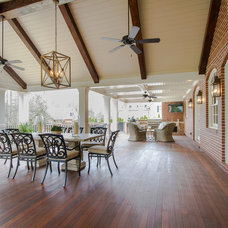 Traditional Porch by Abbey Construction Company, Inc.