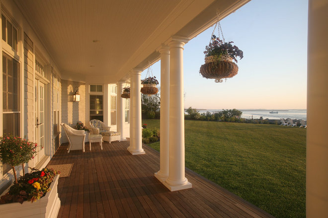 Traditional Porch by Duckham Architecture & Interiors