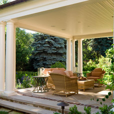 Traditional Porch by Neumann Lewis Buchanan Architects