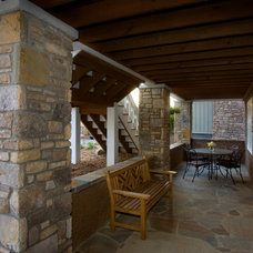 Traditional Porch by Thomas Lawton Architect