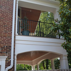 Traditional Porch by Christopher D. Marshall Architect, LLC