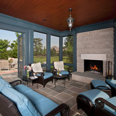 Traditional Porch by Cynthia Williams Architect