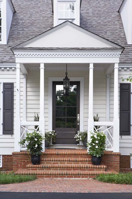 Transitional Porch by Linda McDougald Design | Postcard from Paris Home