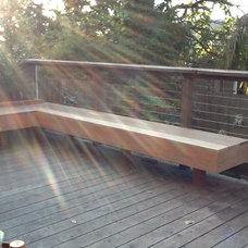 Modern Porch by Terra Rubina