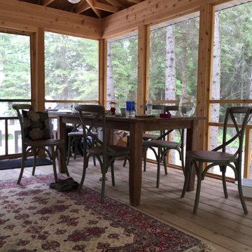 Classic Contemporary Minnesota Cabin