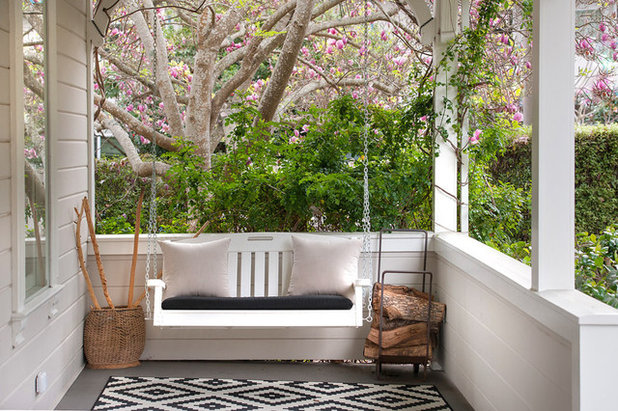 Traditional Porch by Candace and Keith Nordstrom, Marin County Realtors