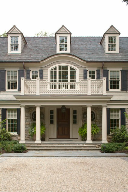 Traditional Porch by Daniel Contelmo Architects