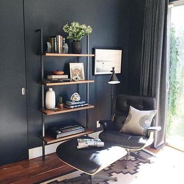 Classic Lounge Chair & Ottoman  by Manhattan Home Design