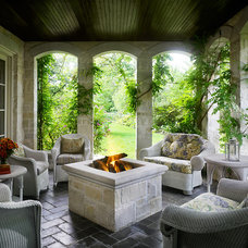 Traditional Porch by Reynolds Architecture- Design & Construction